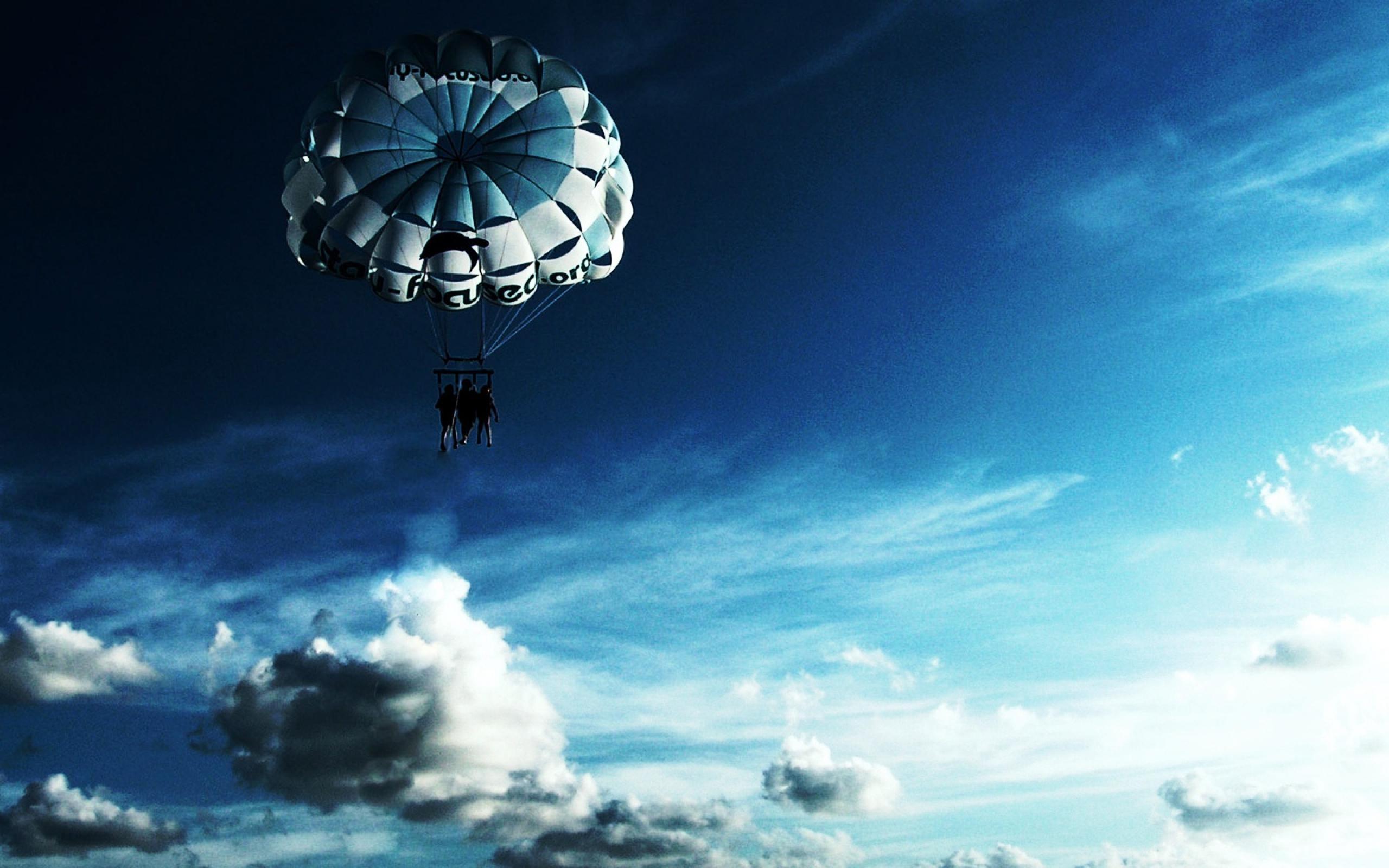 空はパラシュート アウトドアスポーツの壁紙プレビュー 10wallpaper Com