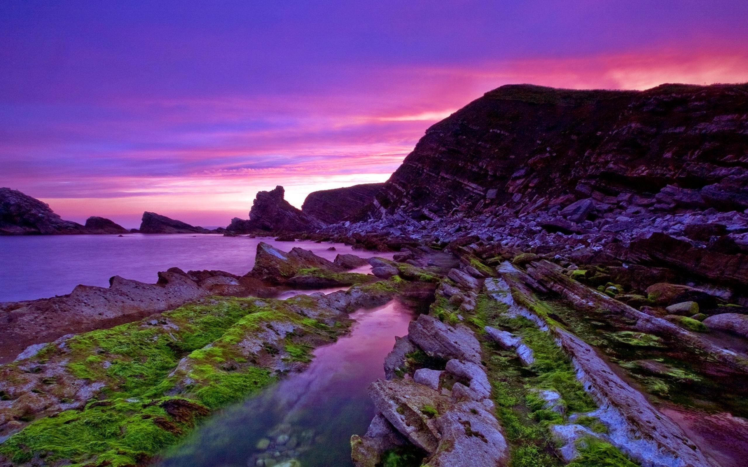 mupe bay england-scenery wallpaper-2560x1600 Download ...