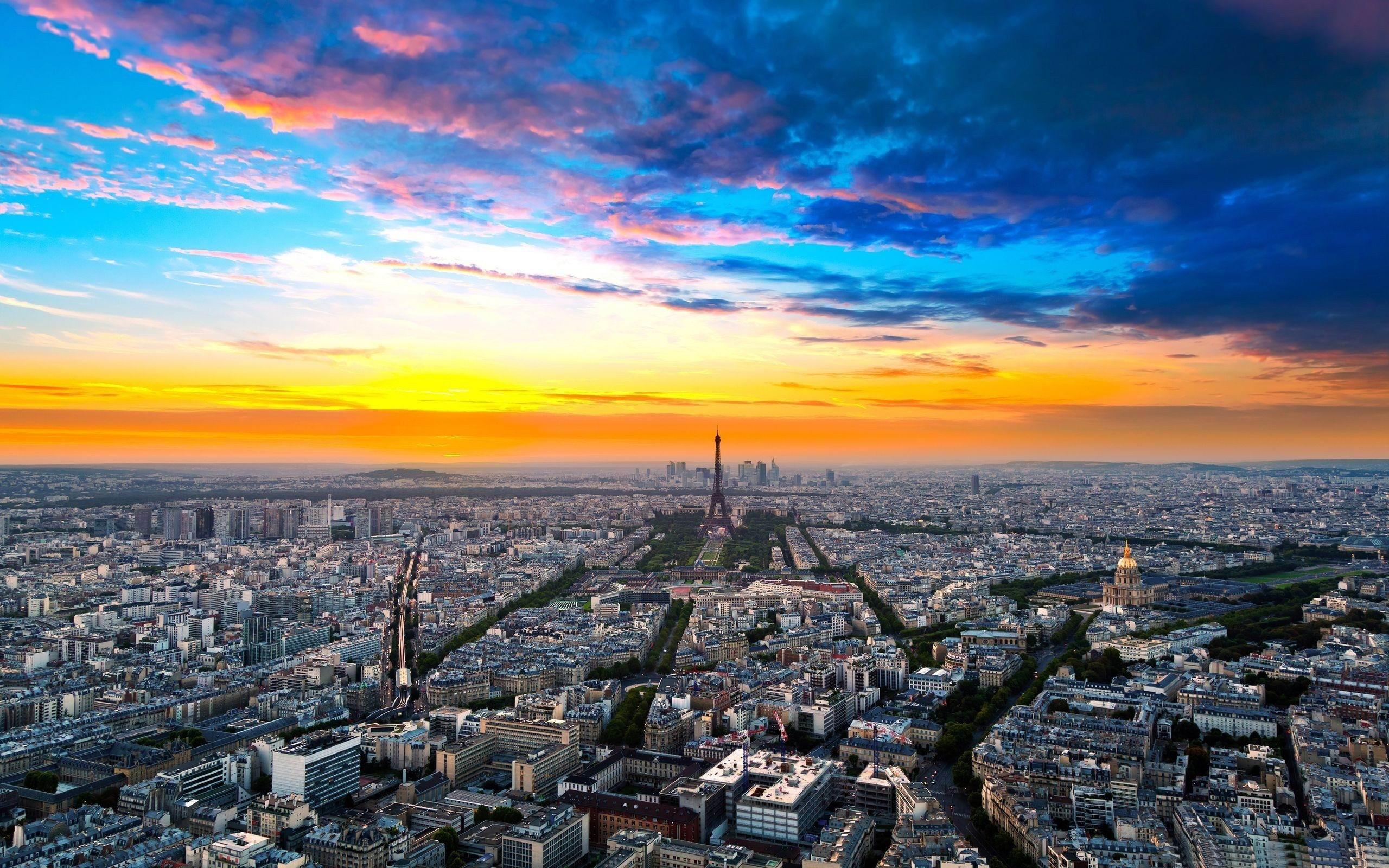 パリの街並み フランスの風景壁紙プレビュー 10wallpaper Com