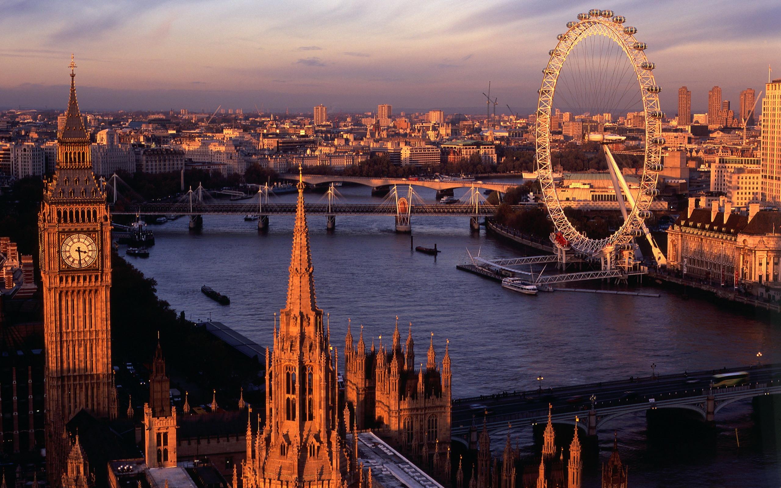 ロンドンパノラマ ヨーロッパの風景壁紙プレビュー 10wallpaper Com