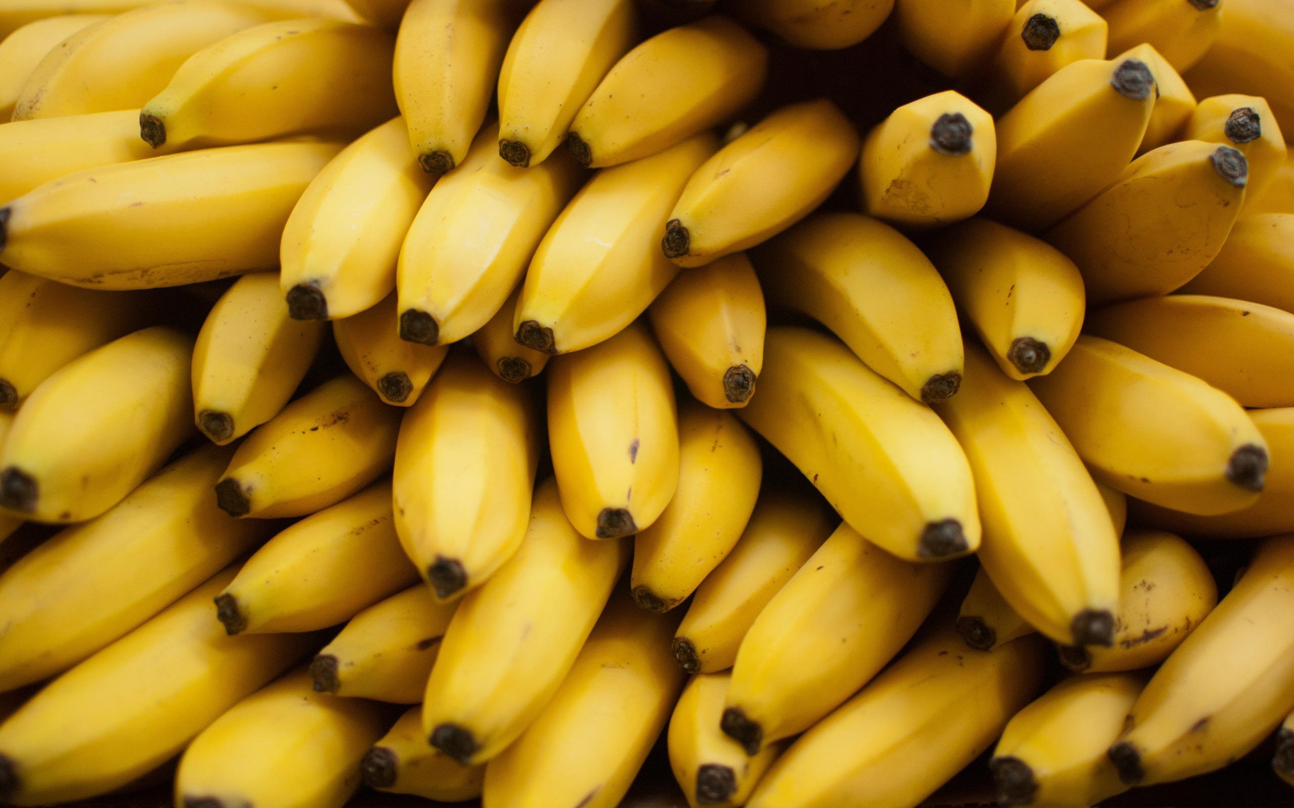 黄色のバナナマクロ Hdデスクトップの壁紙プレビュー 10wallpaper Com