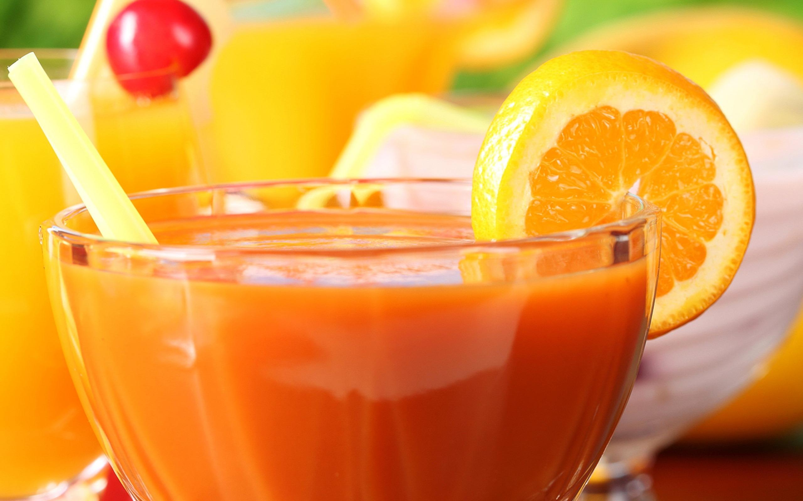 Orange juice fresh