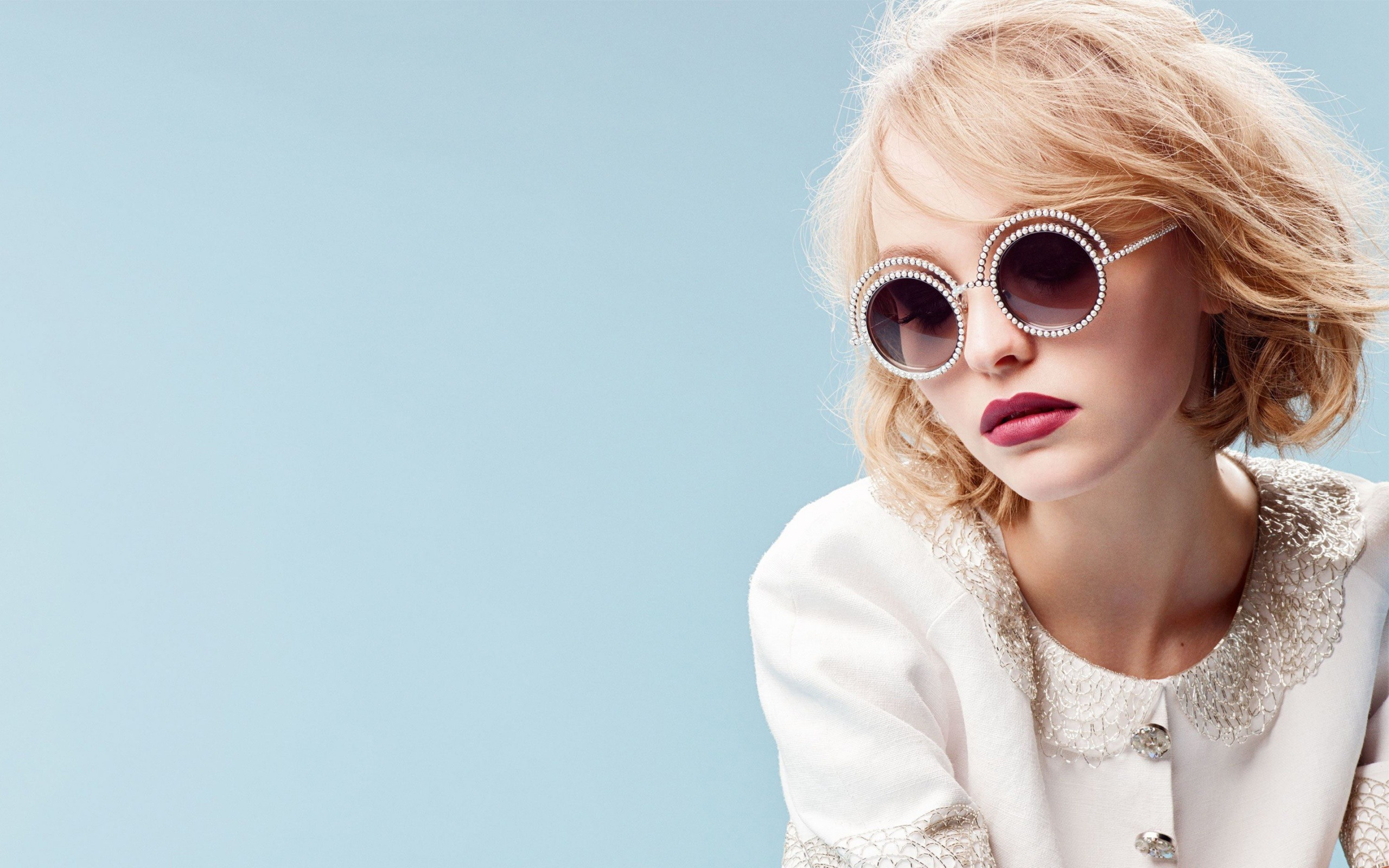 2018 Lily Rose Depp Hd Celebrities 4k Wallpapers Images: Lily Rose Depp 2016-Beauty High Quality Photo Wallpaper