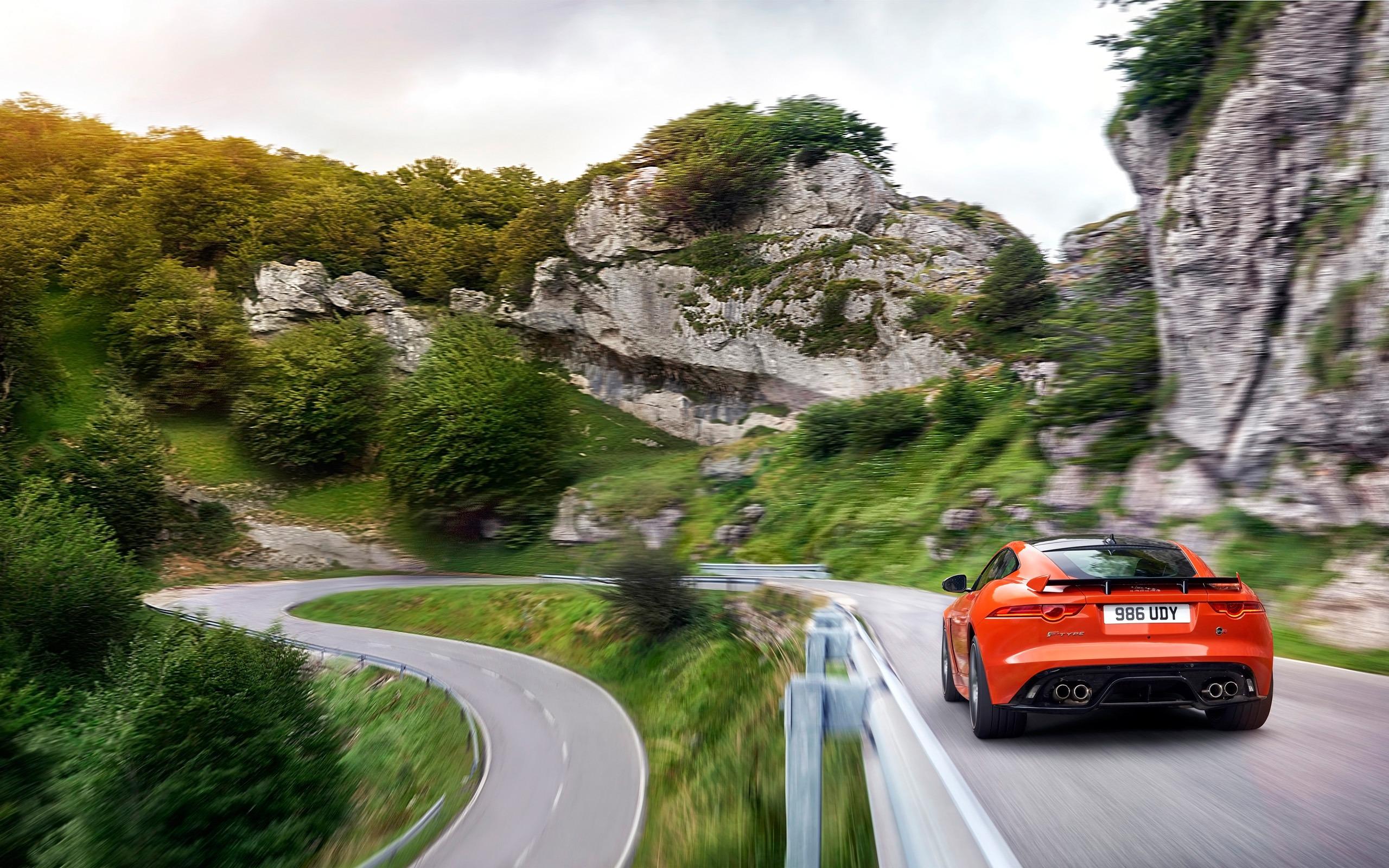 Jaguar FType SVR Official Teaser