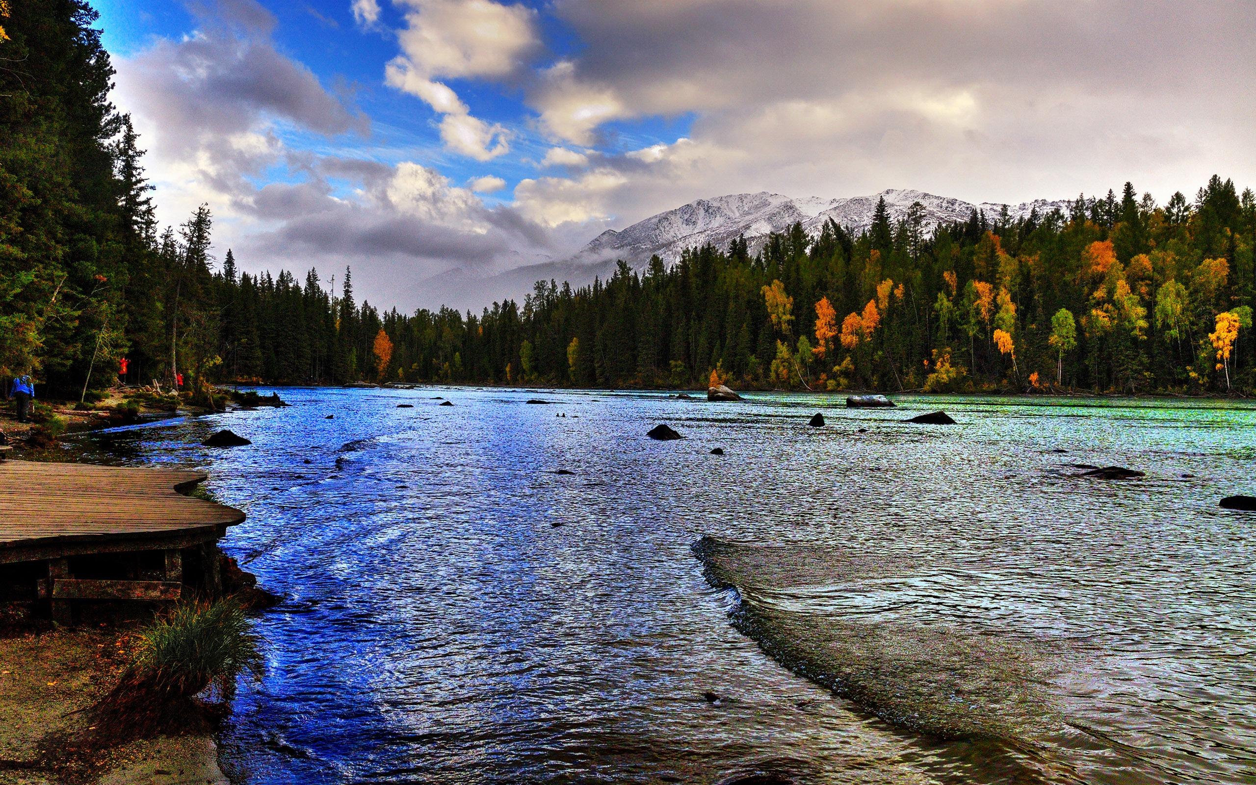 Kanas Lake Xinjiang China Travel Photo HD Wallpaper 15 Preview | 10wallpaper.com
