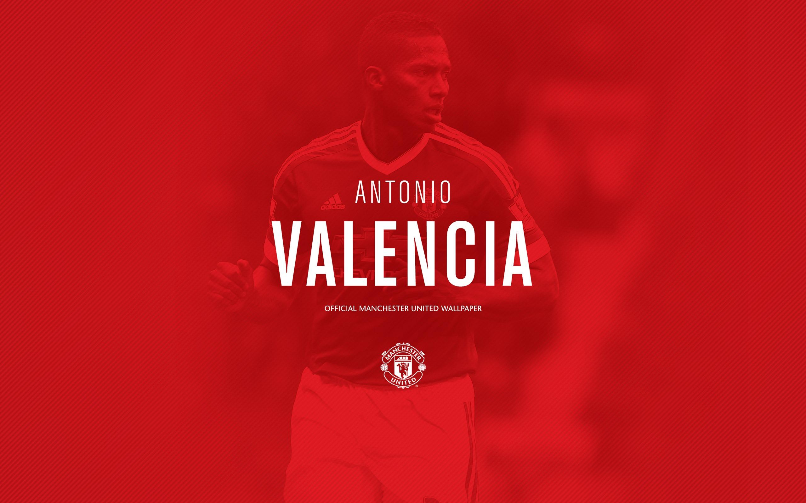 Antonio Valencia 2016 Manchester United Fondo De Pantalla Hd