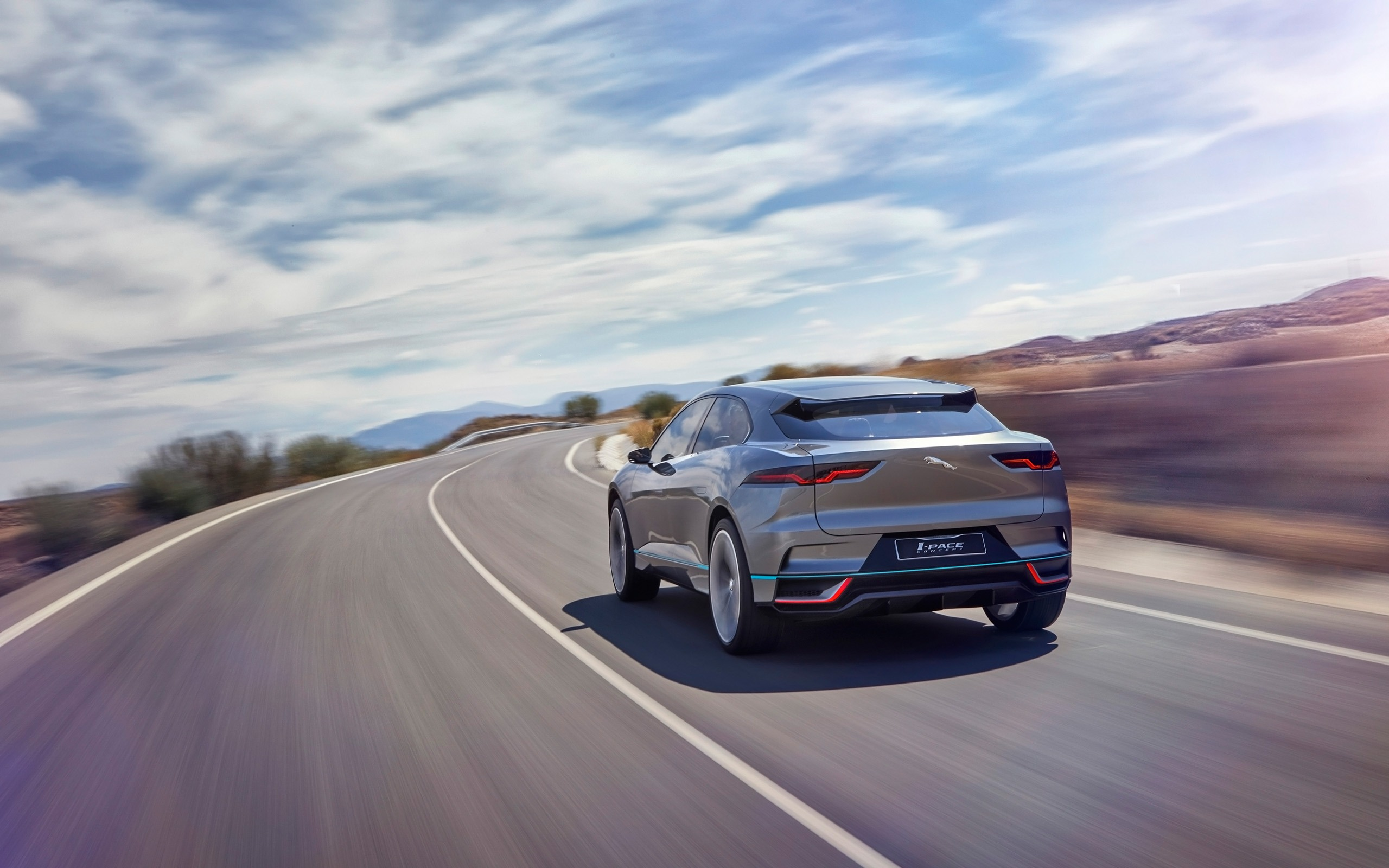 2016 Jaguar I-Pace 개념 자동 HD 배경 화면 17시사 | 10wallpaper.com