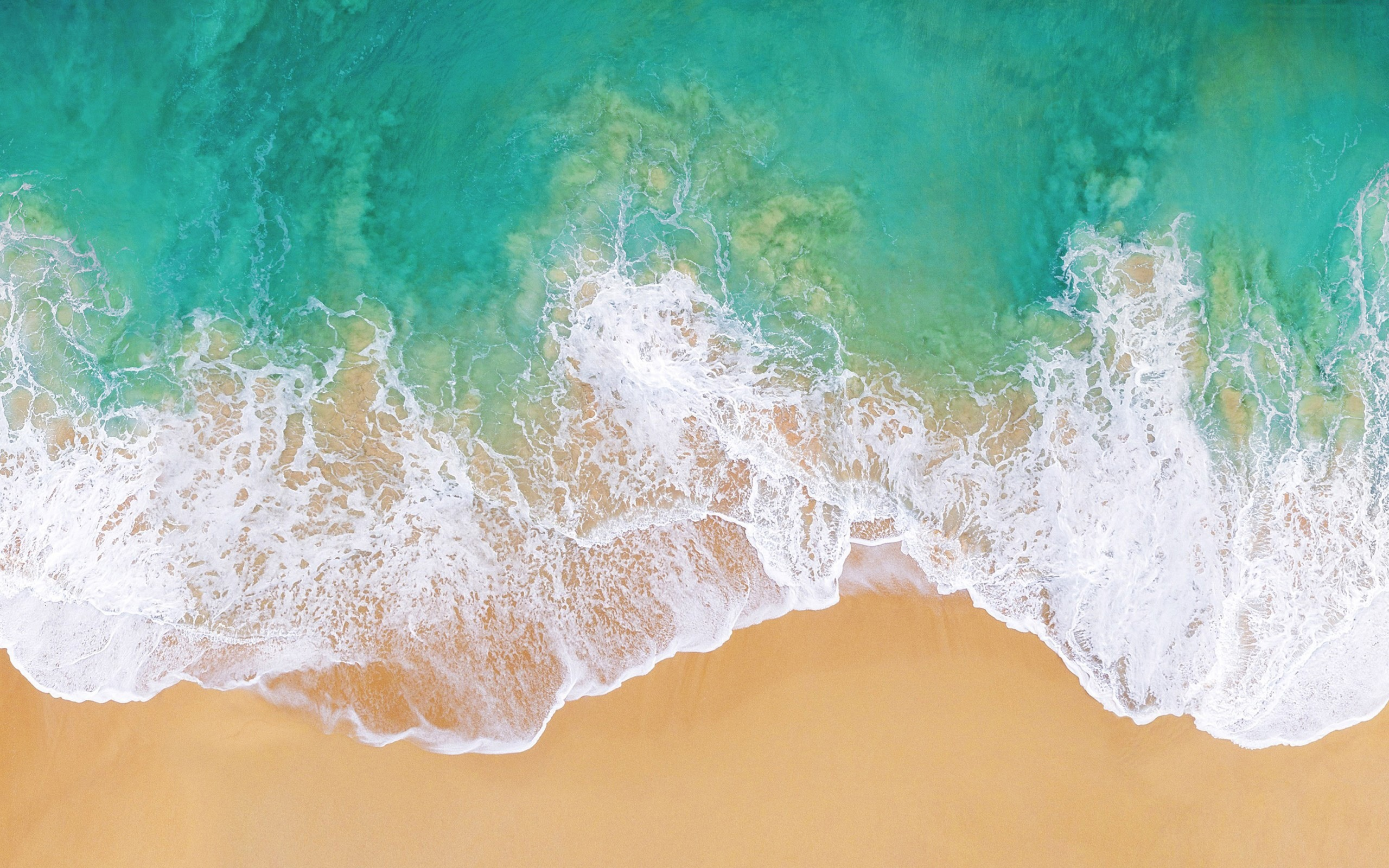 Apple Beach Wallpaper
