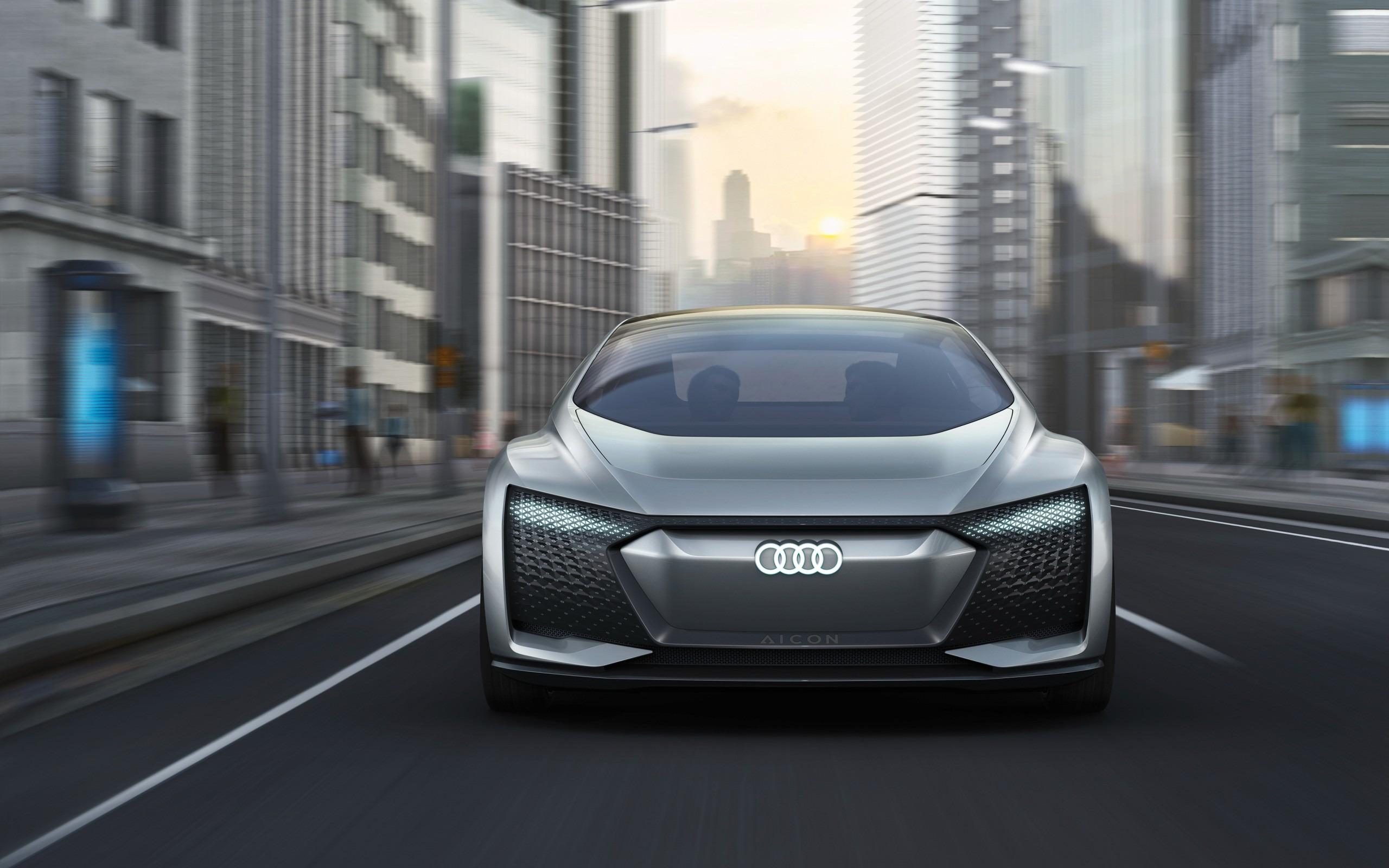 Audi Aicon Frankfurt Car Poster Wallpaper X