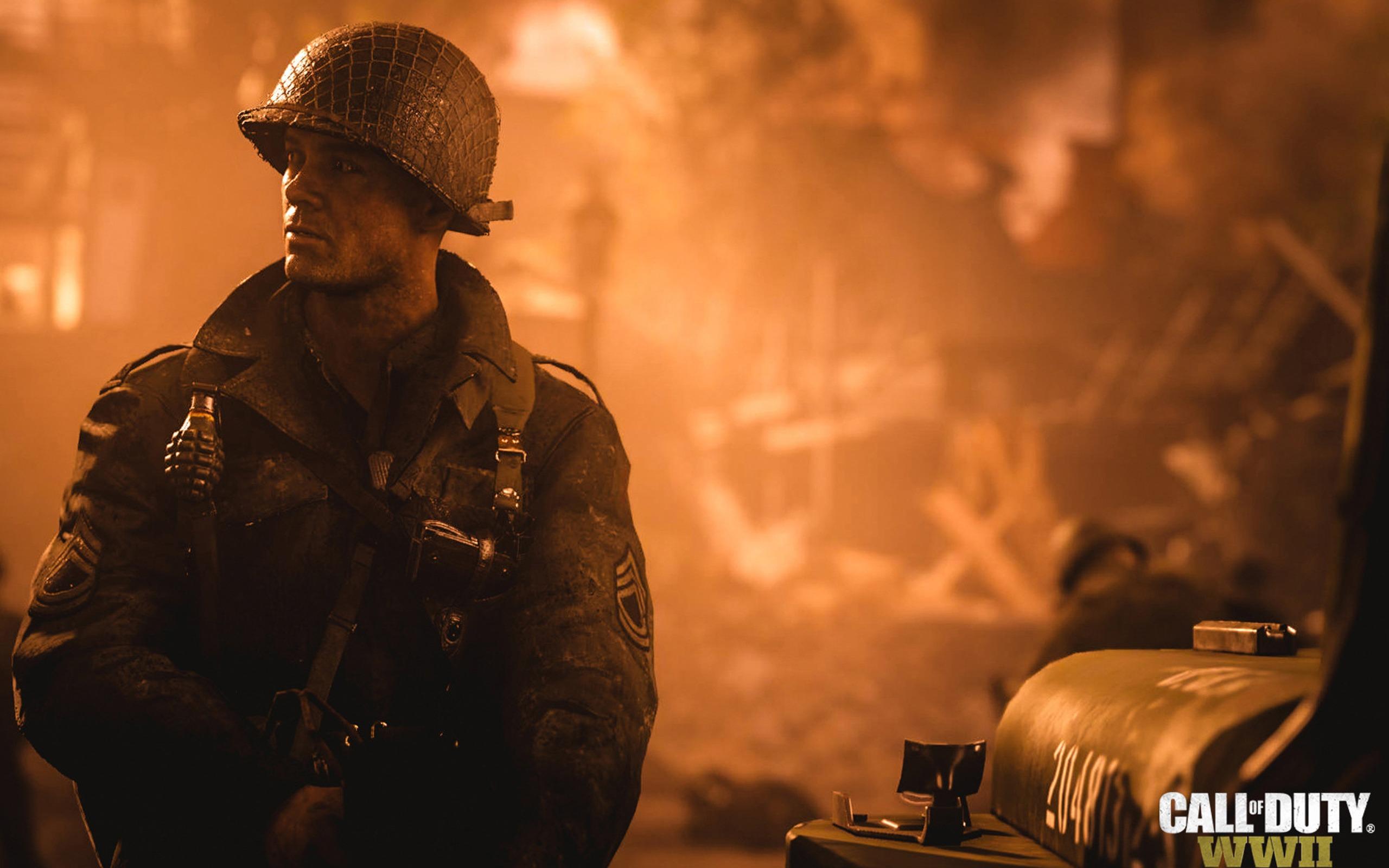 Call Of Duty Ww2 Fond D Ecran Du Jeu 2017 Apercu 10wallpaper Com