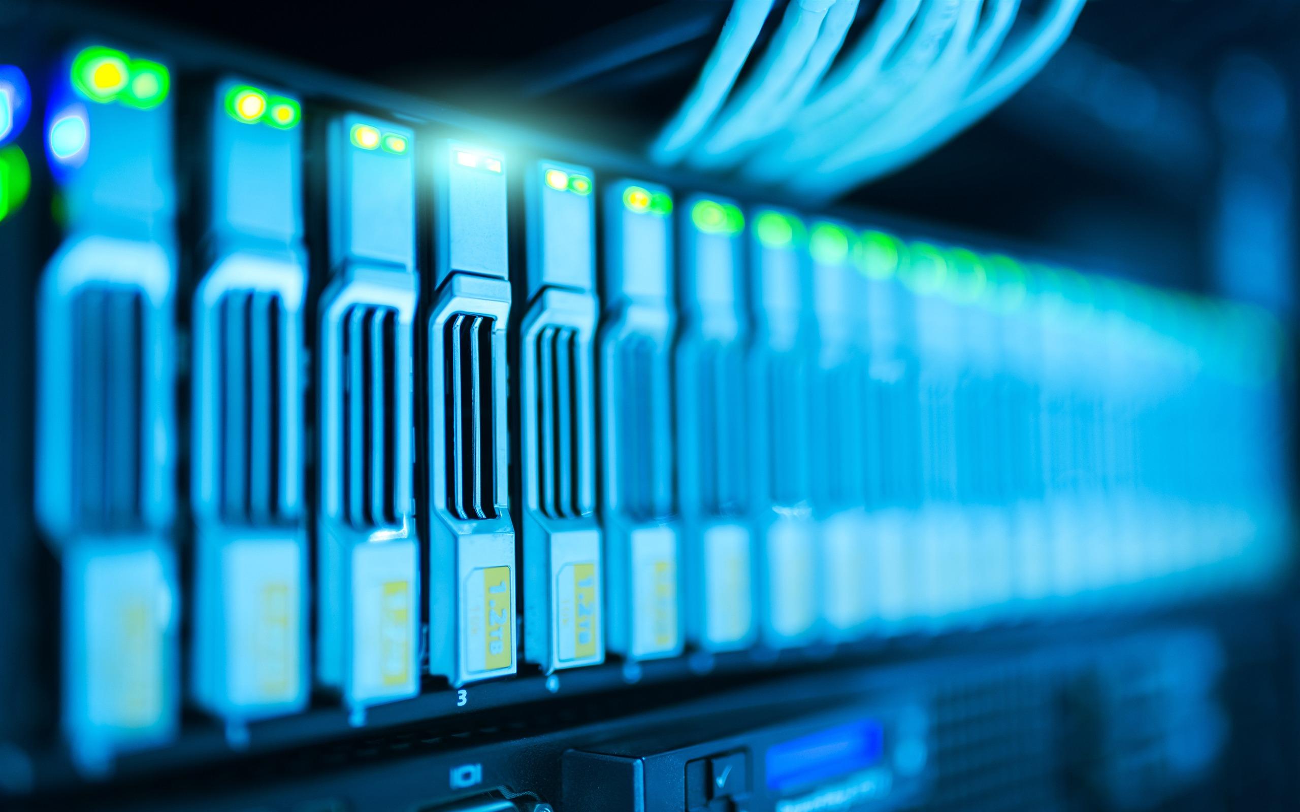 Bandwidth Computer Network Signal Light Closeup Preview