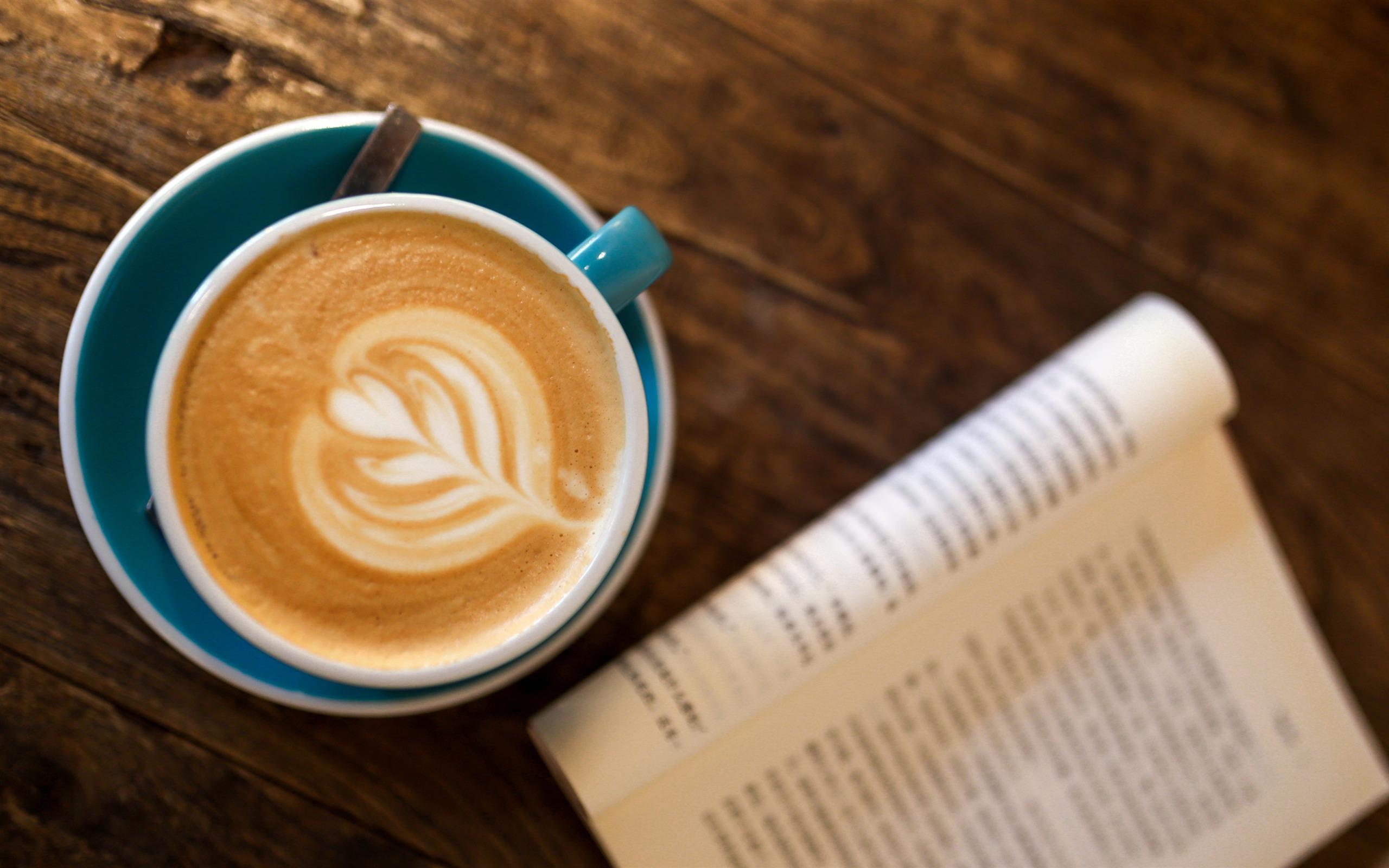 Cappuccino Mocha Coffee Reading Book Preview 10wallpaper Com