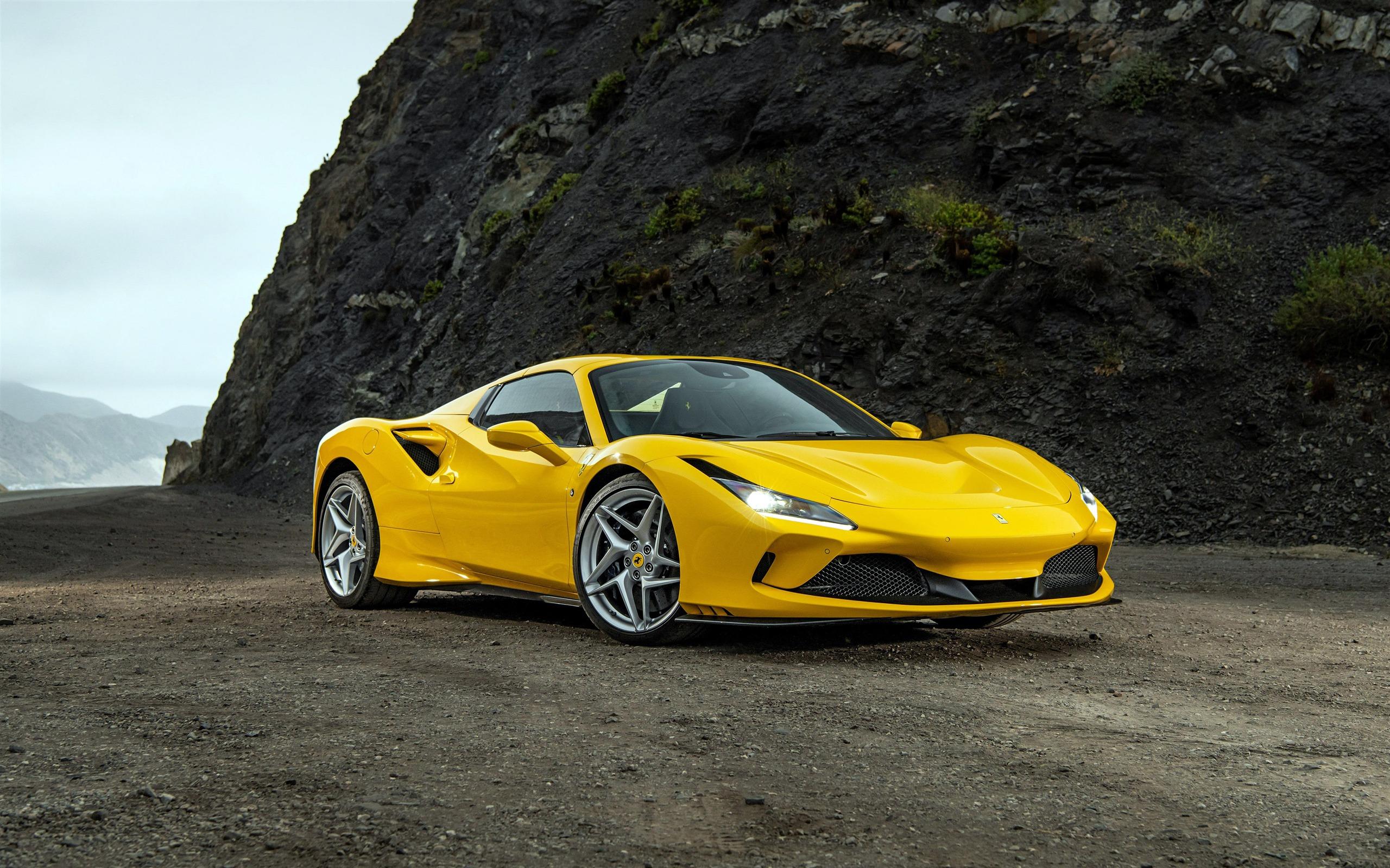 Ferrari F8 Aranha Supercarro 2020 Alta Qualidade Foto Visualizacao 10wallpaper Com