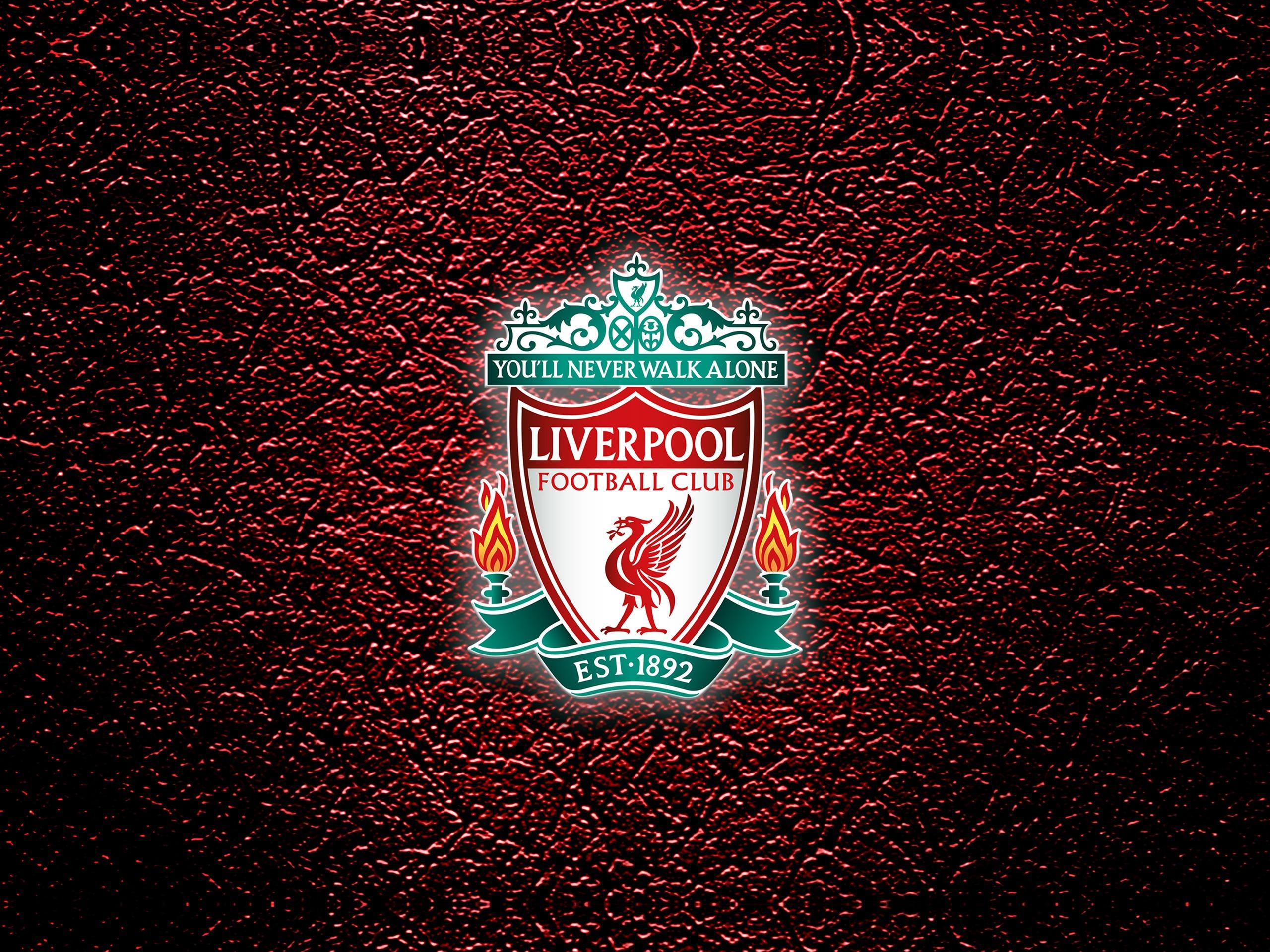 10wallpaper.com 利物浦,2018年,足球俱乐部,标志,设计预览  