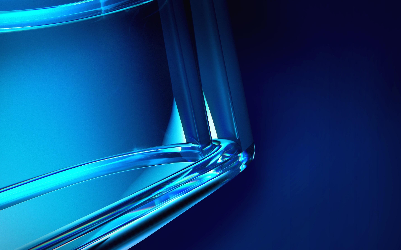 Bleu Cristal Fond Résumé Aperçu 10wallpapercom