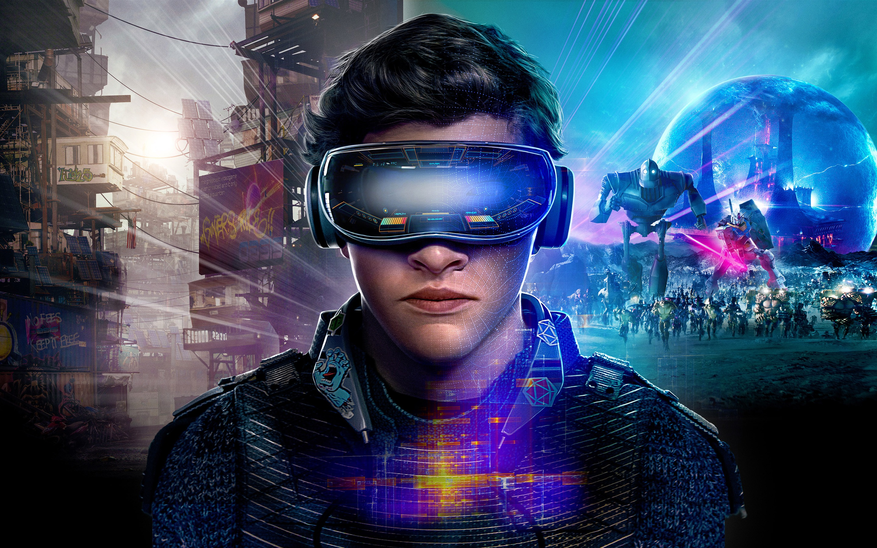 Ready player one VR 4K Movie 2018-2880x1800 Download