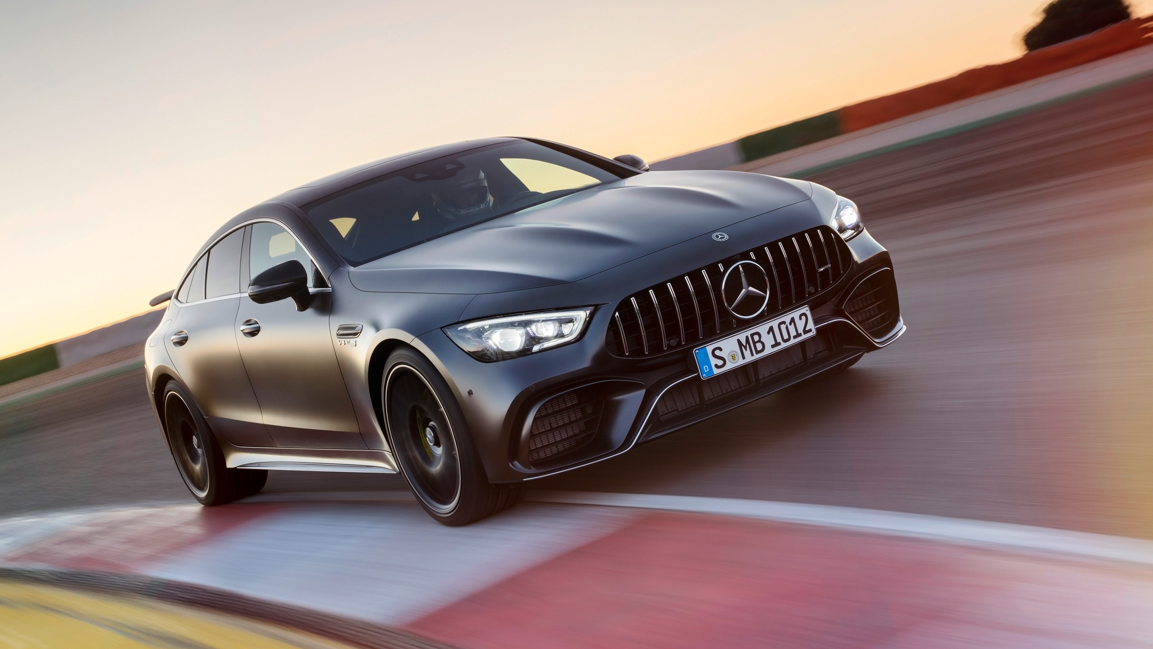 2019 Mercedes Amg Gt 4 Door Coupe Preview 10wallpaper Com