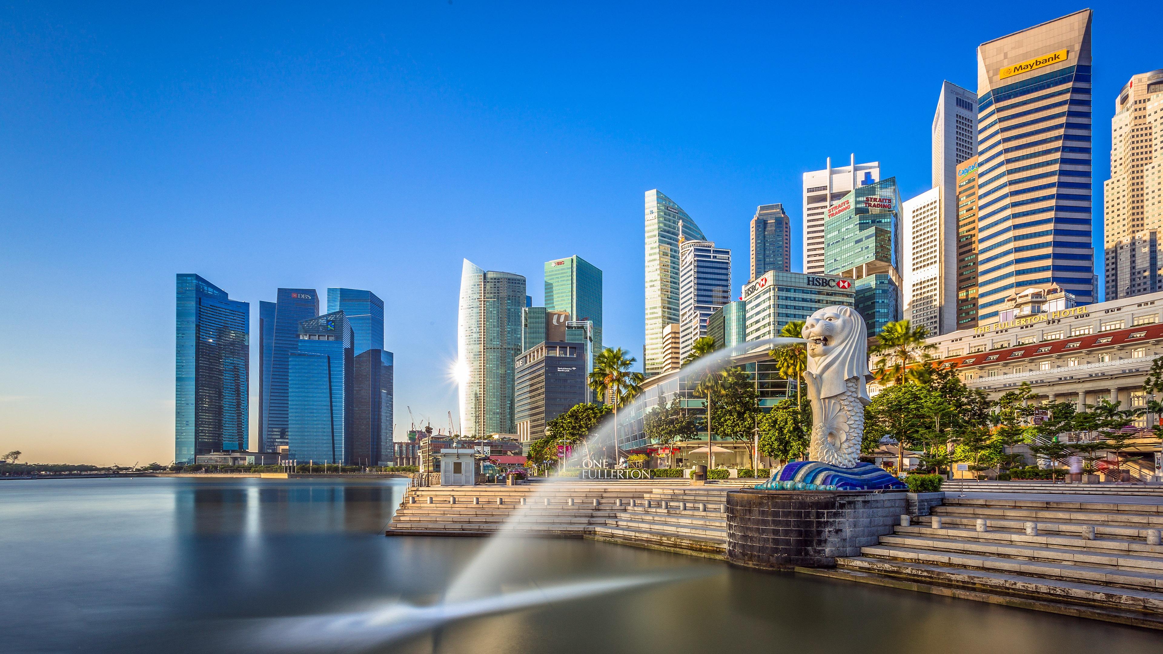 繁华都市_新加坡,滨海湾金沙,城市,旅游预览   10wallpaper.com