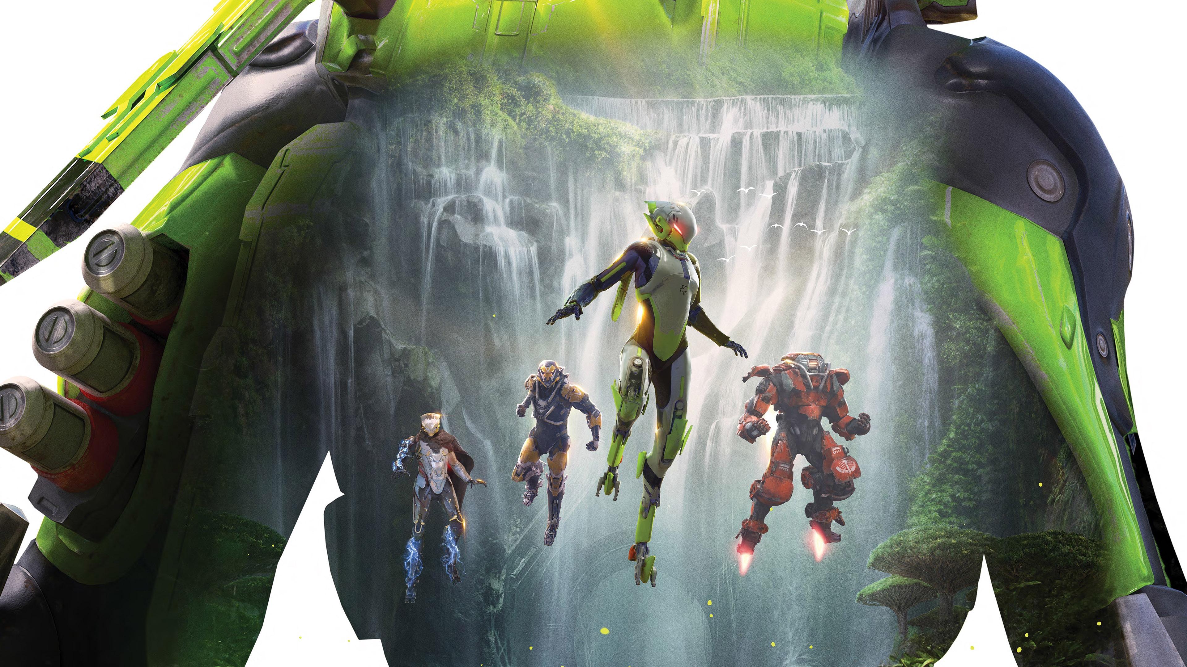 Anthem、2019、ビデオゲーム、4K、HD、ポスタープレビュー   10wallpaper.com