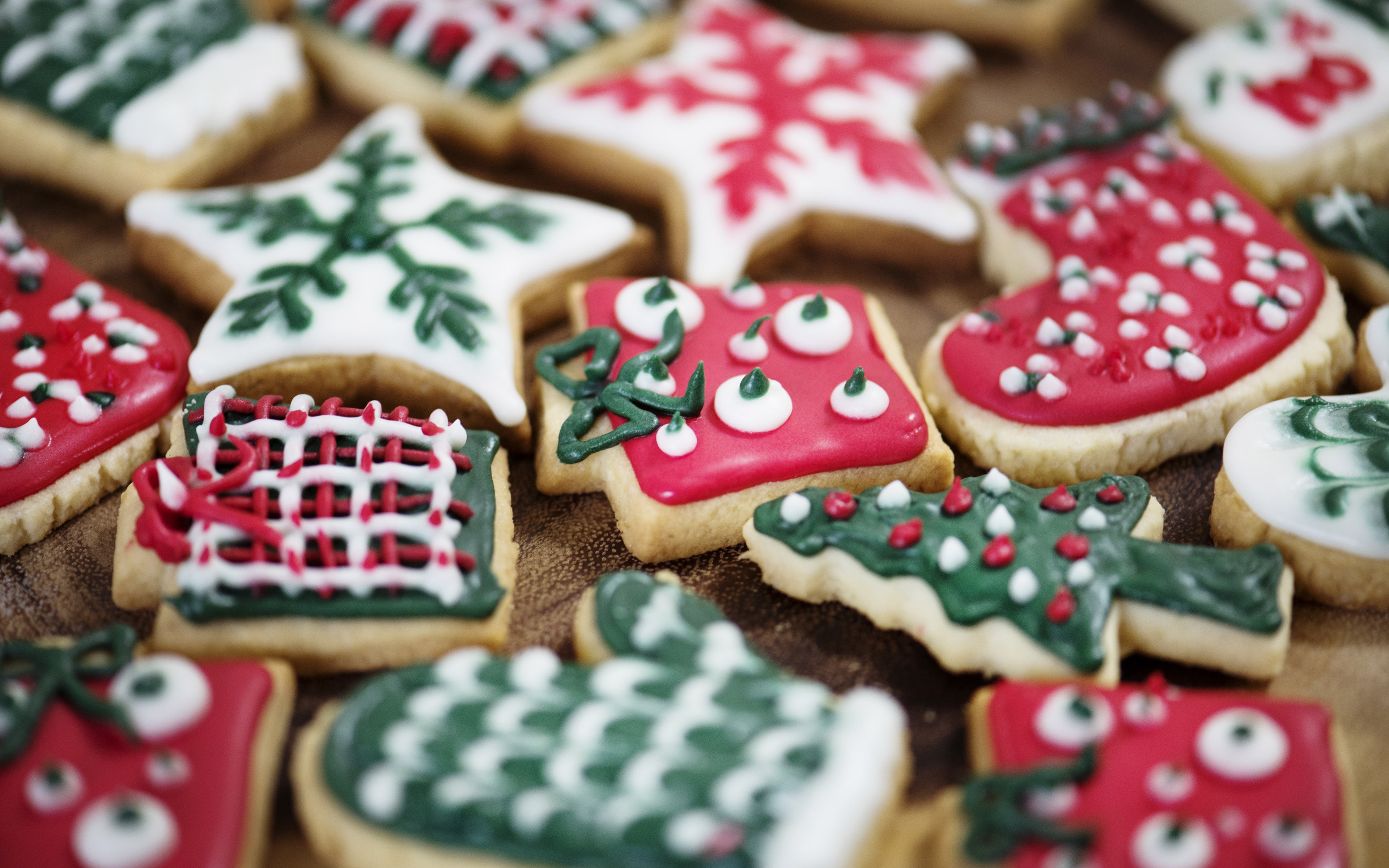 Delicious christmas cookies 2017 4K High Quality Preview ...