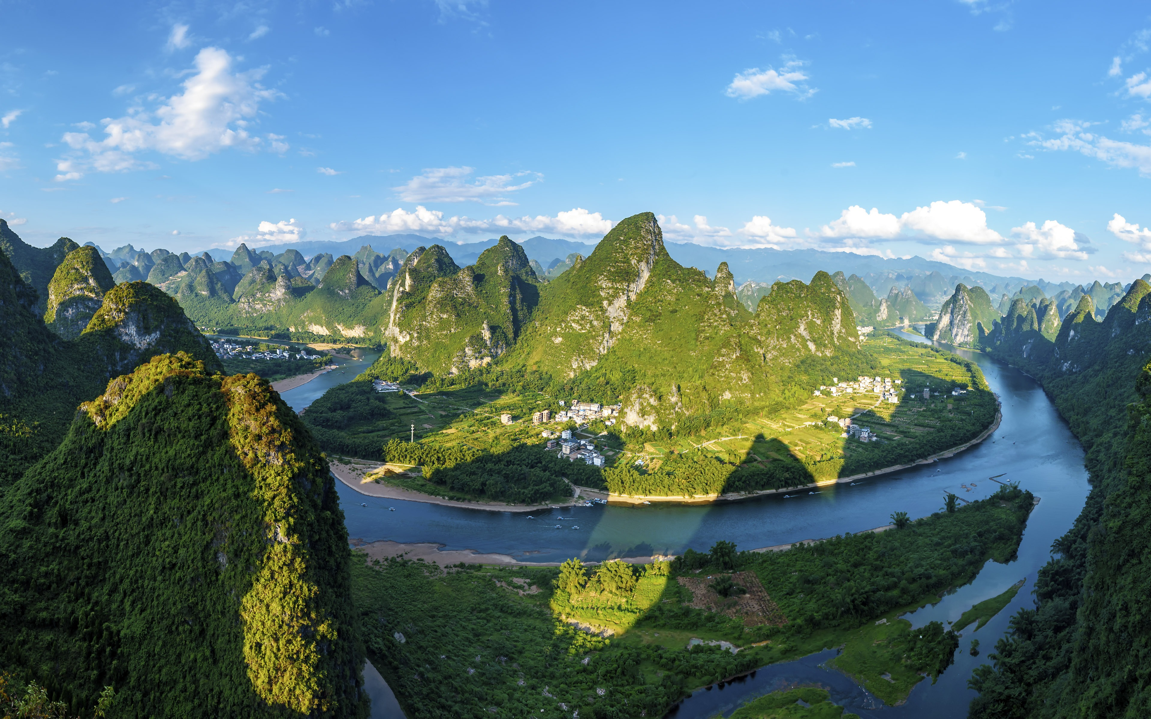 China Guilin Yangshuo Landscape Panorama Preview