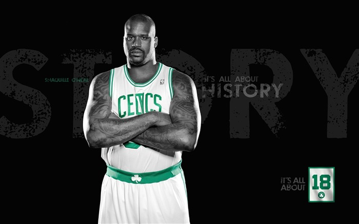 2010-11 NBA season Boston Celtics the desktop wallpaper - the new season lineup Views:12242