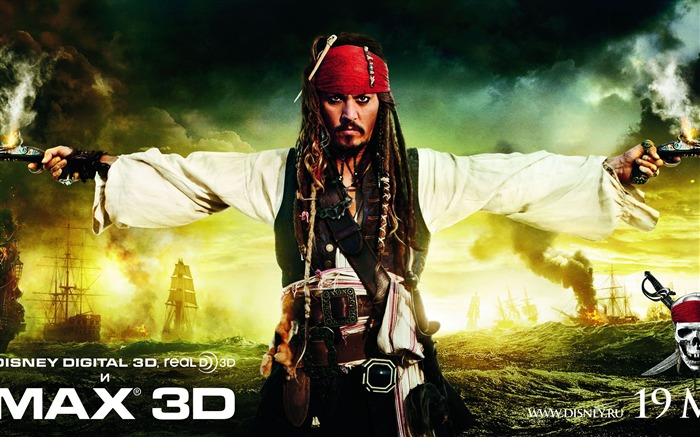 2011 moive Pirates of the Caribbean-On Stranger Tides Wallpaper Views:9698