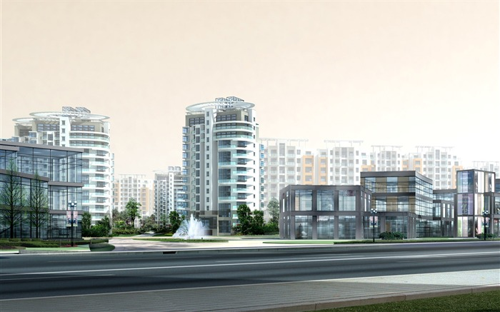3D Architectural Rendering of Residential Buildings 38 Views:3026