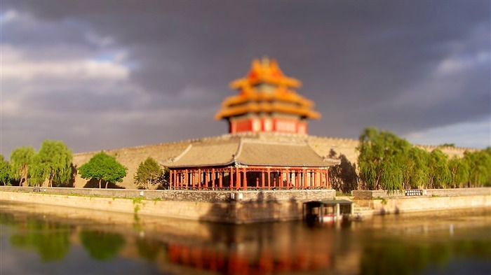 Beijing Forbidden City moat Wallpaper Views:10379