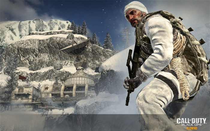 Call of Duty 7 Black Ops Wallpaper Views:6927