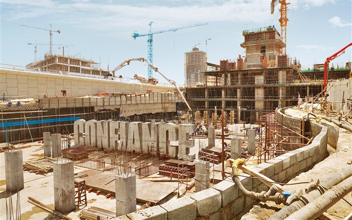 Construction Site Creative Advertising Design Views:21104