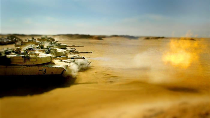 Desert Tank Wallpaper Views:11934