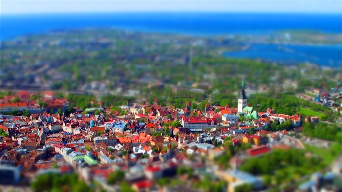 Estonia Tallinn Old Town Wallpaper Views:15049