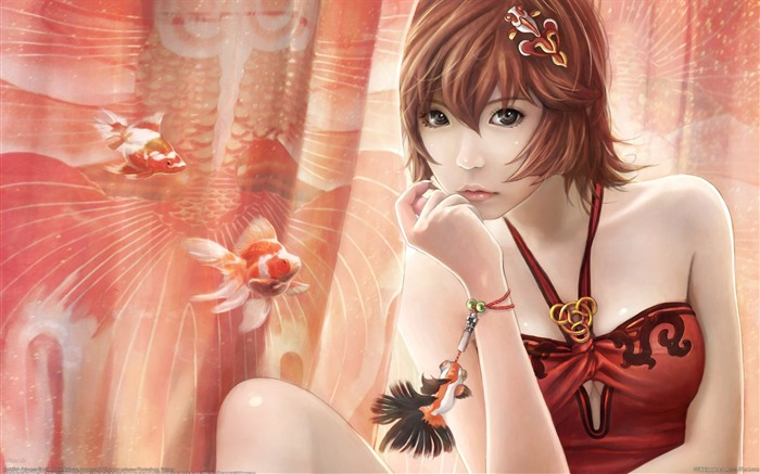 Beautiful CG Characters I-Chen Lin CG Artworks Views:25089