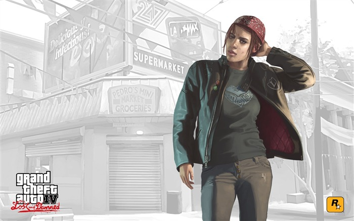 GTA4 piece of information loss and cursed Ashley wallpaper Views:11958 Date:5/30/2011 10:15:08 PM