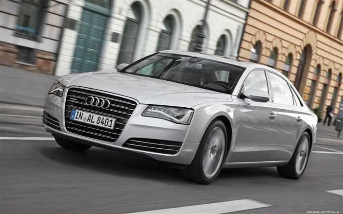German cars Audi A8L HD Wallpapers Views:16506
