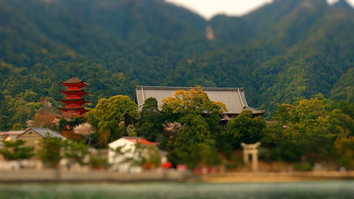 Japanese traditional architecture Wallpapers Views:4528