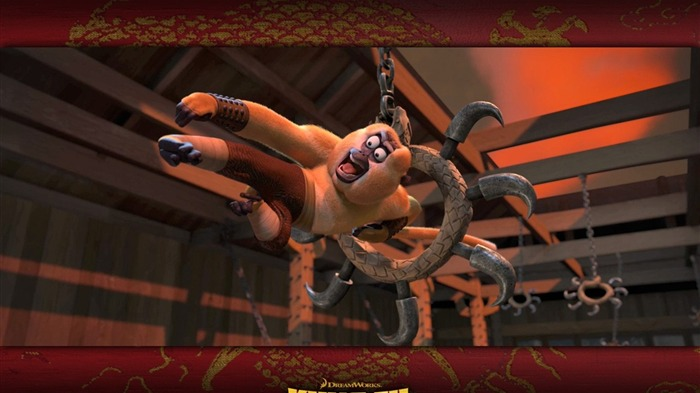 3D animation Kung Fu Panda 1 full wallpaper Views:14631