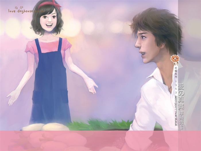 Lovely Little Girl - Beautiful Illustrations of Romance Novels Views:3047