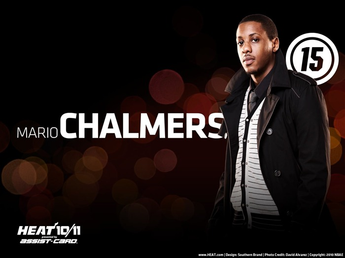 Miami Heat wallpaper1011 Chalmers Views:7139 Date:5/21/2011 9:15:22 PM
