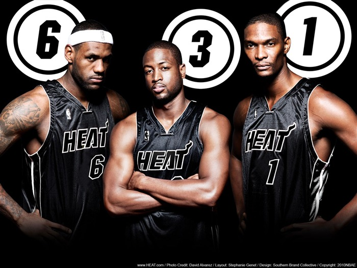 Miami Heat wallpaper1011 JamesWadeBosh0 Views:8421 Date:5/21/2011 9:21:45 PM