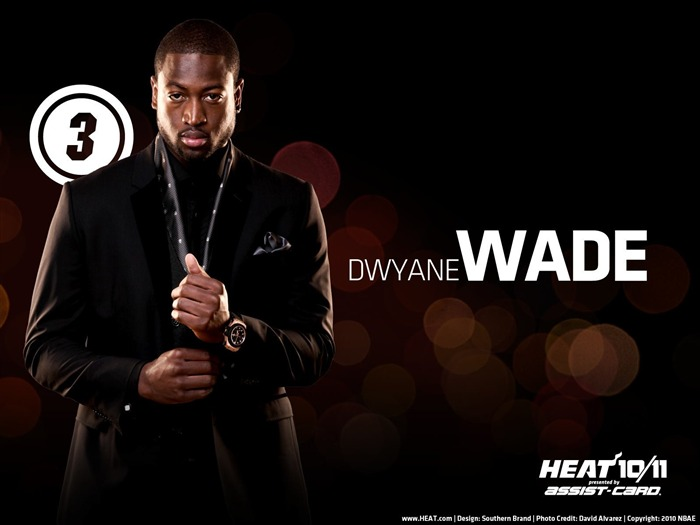 Miami Heat wallpaper1011 wade Views:13916 Date:5/21/2011 9:25:22 PM