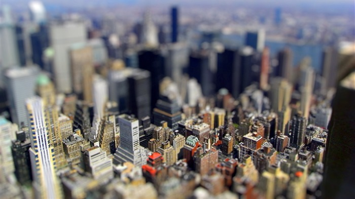 Miniature city wallpaper Views:12552