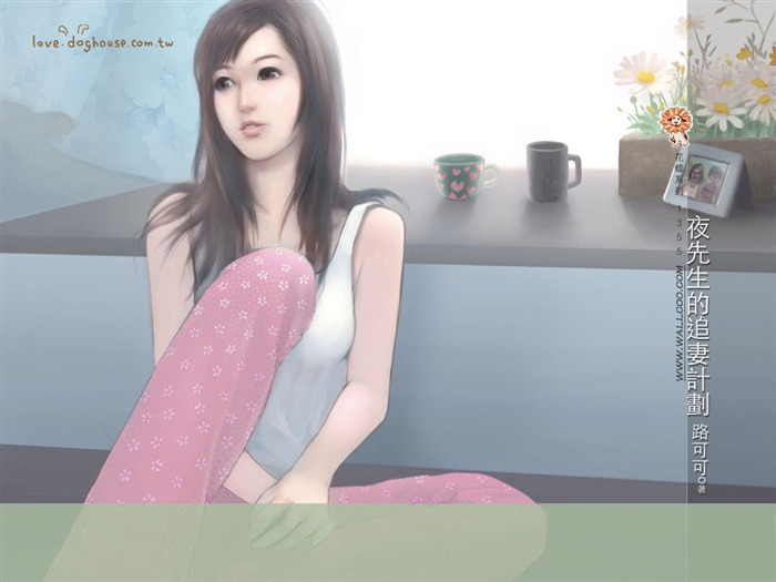 Pastel Paintings of Sweet Girls in Romance Novels Views:5045 Date:5/31/2011 11:28:07 PM