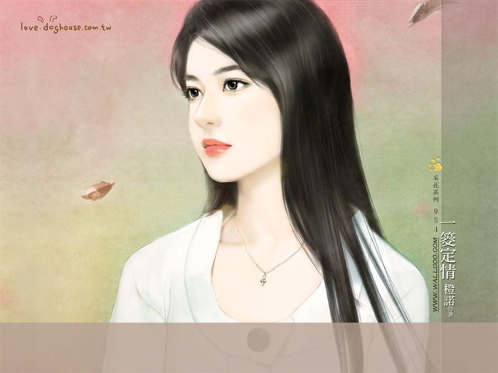 Romantic Illustrations of Young Girls in Soft Pastel colors2 Views:4523 Date:5/31/2011 11:30:10 PM
