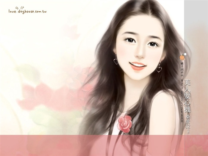 Rosy Angle - Beautiful Sweet Girls in Soft Pastel colors Views:3840