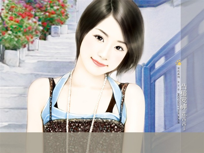 Sweet Girls - Beautiful Illustrations of Sweet Chinese Girls1 Views:5651 Date:5/31/2011 11:34:23 PM