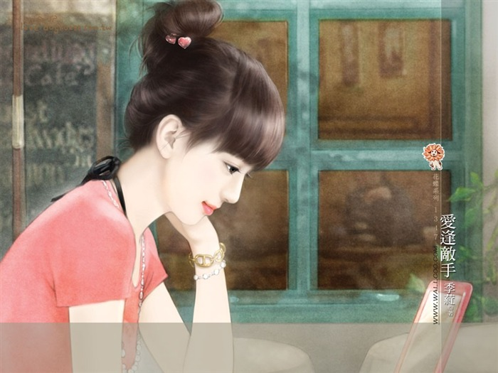 Sweet Girls - Beautiful Illustrations of Sweet Chinese Girls Views:2509