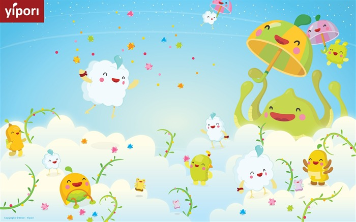 Yipori illustration Wallpaper cute Views:12685