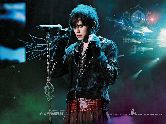 Unmatched - Jay Chou concert and album promotion wallpaper Views:7646